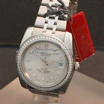 Tudor Classic Date Diamonds Bezel