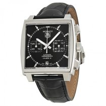 TAG Heuer Men's CAW2110.FC6177 Monaco Calibre 12 Watch