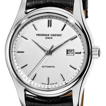 Frederique Constant Classics Index Steel 46.6mm Silver United States of America, New York, Brooklyn