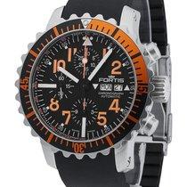 Fortis Aquatis Marinemaster Chronograph Orange 671.19.49 K