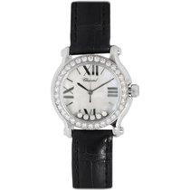 Chopard Stainless Steel & Diamond Happy Sport Watch