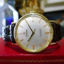 Omega Seamaster De Ville 14k Yellow Gold Automatic Watch