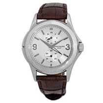 Patek Philippe 18K White Gold Travel Dual Time 5134 G Mechanic...