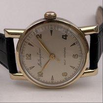 Mathey-Tissot vintage AUTO self winding watch case 10k gold