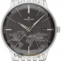 Junghans Steel 38,40mm Quartz 058/4803.44 new