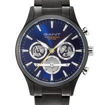 Gant nieuw Quartz Lichtgevende indexen 44mm Staal Mineraalglas
