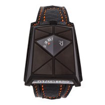 Romain Jerome 38mm Automatic pre-owned Moon-DNA Black