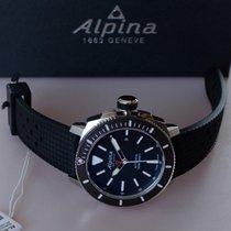Alpina 44mm Automatika nové Seastrong Černá