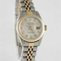 Rolex 26mm Automatic 1993 pre-owned Lady-Datejust Silver
