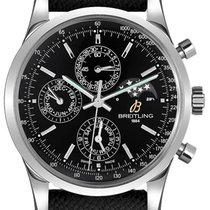 Breitling Transocean Chronograph 1461 Steel 43mm Black United States of America, California, Moorpark