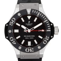 Hublot Palladium Automatic Black 48mm pre-owned Big Bang King