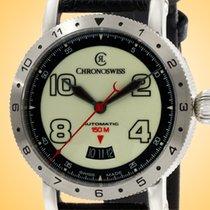 Chronoswiss Steel 41mm Automatic CH-2733-LU/31 new