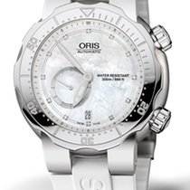 Oris Titanium Automatic Mother of pearl 44mm new Divers Titan