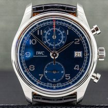 IWC Portuguese Chronograph Steel 42mm Grey Arabic numerals United States of America, Massachusetts, Boston