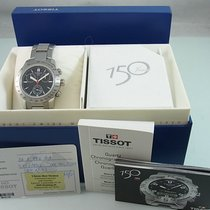 Tissot V8 pre-owned 40mm Black Chronograph Date Steel