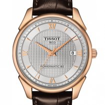 Tissot Rose gold Automatic Silver 40mm new