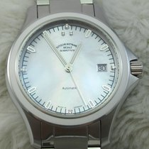 Mühle Glashütte Silver Automatic Mother of pearl No numerals 39mm new