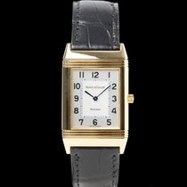 Jaeger-LeCoultre Reverso Classique Yellow gold 38mm Silver