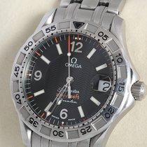Omega Seamaster Diver 300 M Steel Black Arabic numerals