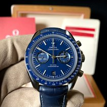 Omega Titanium Automatic Blue No numerals 44.2mm pre-owned Speedmaster Professional Moonwatch