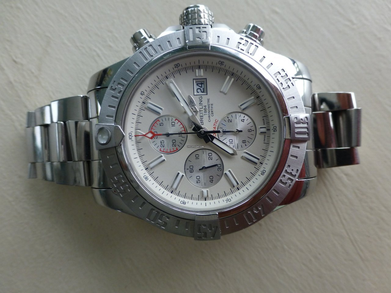 Breitling Super Avenger Iced Out