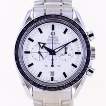 Omega Speedmaster Broad Arrow Acero 42mm Blanco Sin cifras