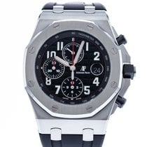 Audemars Piguet Royal Oak Offshore Chronograph pre-owned 42mm Black Date Rubber