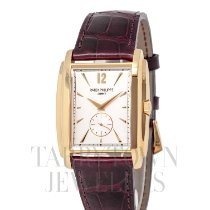 Patek Philippe Gondolo Yellow gold 34mm Silver United States of America, New York, Hartsdale