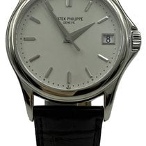 Patek Philippe 5127G-001 Or blanc 2006 Calatrava 37mm occasion