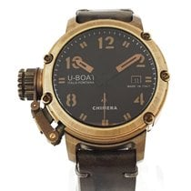 U-Boat new Automatic Central seconds Limited Edition Crown Left Only Original Parts 43mm Bronze Sapphire crystal