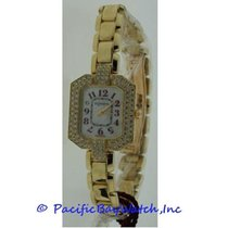 DeLaneau Louka Yellow gold 20mm Mother of pearl Arabic numerals