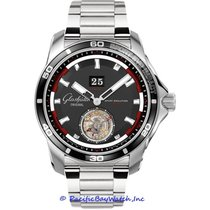 Glashütte Original Sport Evolution Impact Steel 46mm Black United States of America, California, Newport Beach