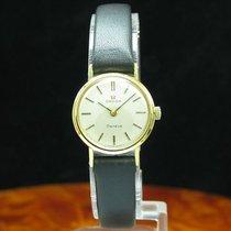 オメガ (Omega) Geneve Gold Mantel / Edelstahl Handaufzug Damenuhr...