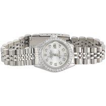 Rolex Ladies Rolex 26mm DateJust Diamond Watch Jubilee Band...