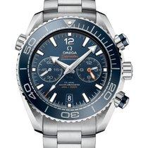Omega Seamaster Planet Ocean Chronograph Steel 45.5mm Blue Arabic numerals United Kingdom, London