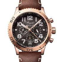 Breguet Type XX - XXI - XXII Rose gold 42mm Grey United Kingdom, London