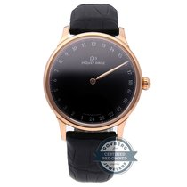 Jaquet-Droz Astrale Rosa guld 43mm Sort Arabertal