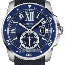 Cartier Calibre de Cartier Diver Steel 42mm Blue United States of America, New York, Airmont