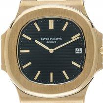 Patek Philippe Nautilus Jumbo 18kt Gelbgold Automatik Armband...