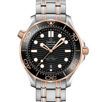 Omega 210.20.42.20.01.001 Goud/Staal Seamaster Diver 300 M