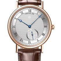 Breguet new Automatic Skeletonized Small Seconds Guilloche Dial Rose gold