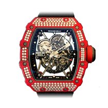 Richard Mille 49.94mm Atomat 2019 nou RM 035 Transparent