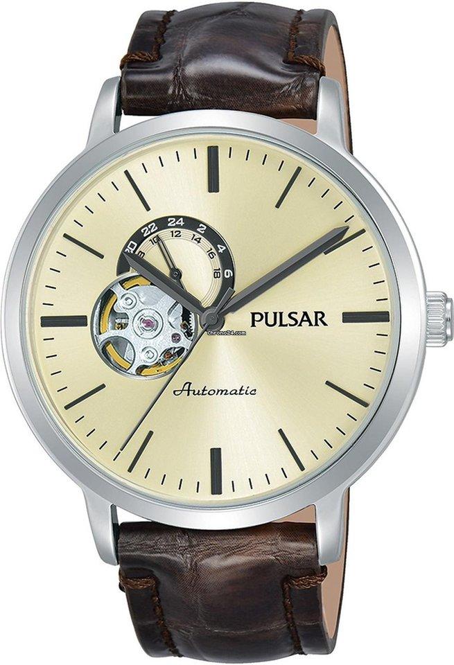 Pulsar Offene P9a007x1 Herren Automatik Unruhe Automatikuhr gf7vIYby6