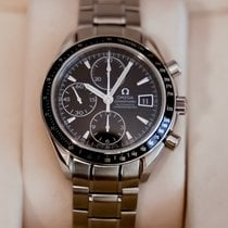 Omega Speedmaster Date pre-owned 40mm Black Chronograph Date Tachymeter Steel