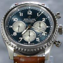 Breitling Navitimer 8 Stål 43mm Blå Arabertal