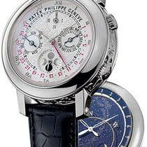 Patek Philippe Sky Moon Tourbillon nuevo 2019 Cuerda manual Reloj con estuche y documentos originales 5002P-001