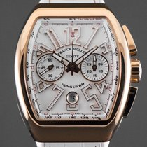 Franck Muller Rose gold Automatic White Arabic numerals new Vanguard
