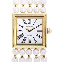 Chanel Mademoiselle Yellow gold 23mm