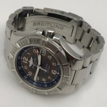 Breitling Colt GMT+ Steel 41mm Grey Arabic numerals