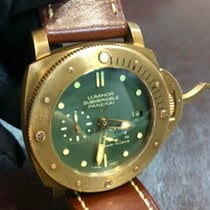 Panerai Special Editions Bronce 47mm Verde Sin cifras